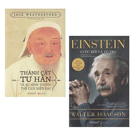 Combo Sách : Thành Cát Tư Hãn Và Sự Hình Thành Thế Giới Hiện Đại + Einstein - Cuộc Đời Và Vũ Trụ