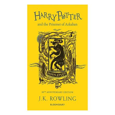 Harry Potter and the Prisoner of Azkaban (Hufflepuff Edition Paperback) (English Book)