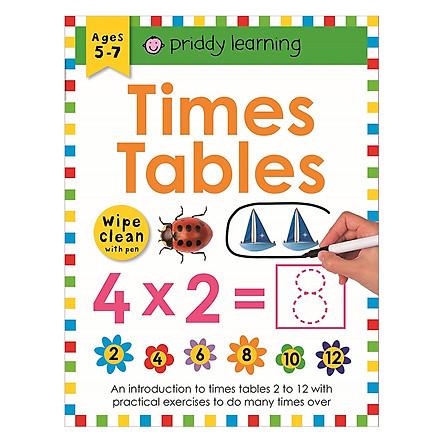 Wipe Clean Workbook Times Table 1-12
