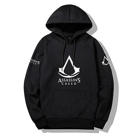 Áo Assassins Creed hoodie dài tay mũ trùm đầu