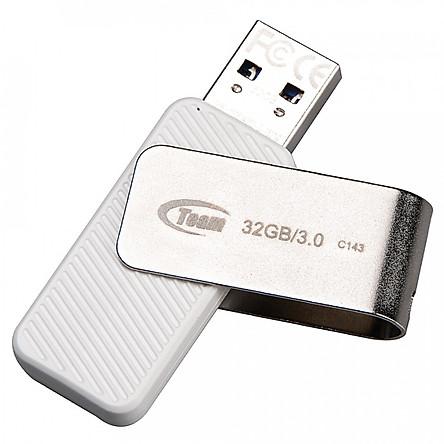 USB Team Group C143 Trắng 32GB - USB 3.0 - Hàng chính hãng