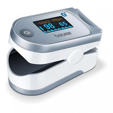 Máy đo khí máu và nhịp tim cá nhân kết nối smartphone qua bluetooth Beurer PO60