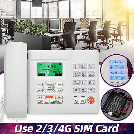 Wall Mount Home Hotel Office Corded Phone Telephone Flash Redial LCD Screen Corded Desk Landline Caller Display DIY