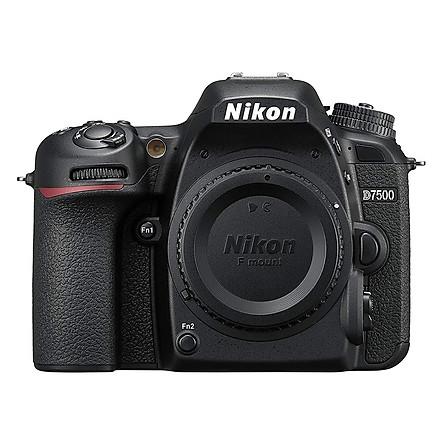 Máy Ảnh Nikon D7500 Body (Hàng Chính hãng) + Thẻ 16GB + Túi máy ảnh + Dán màn hình