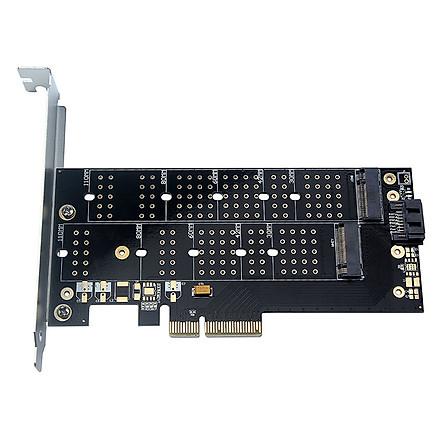 Bộ Chuyển Đổi PCIe sang M.2 SSD - Đen