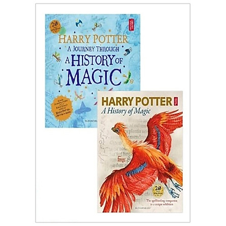Combo Harry Potter - A Journey Through A History Of Magic - The Book Of The Exhibition