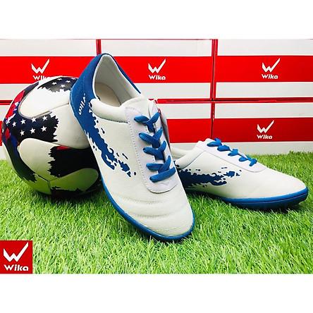 giày đá bóng vải chính hãng wika ULTRA 3, thương hiệu người việt