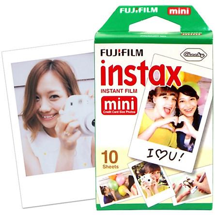 Giấy In Ảnh Cho Máy Ảnh Lấy Liền Mini Fujifilm - Trắng