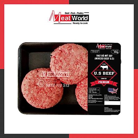 Thịt bò Mỹ xay 500G