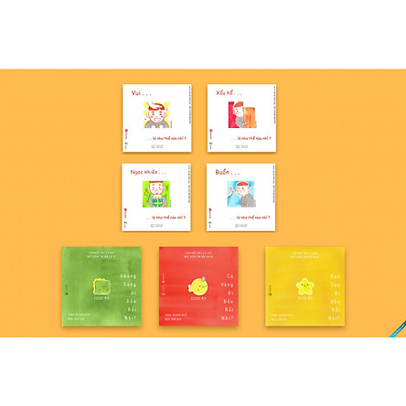 Full 7 cuốn Ehon Nhật bản giúp con thông minh