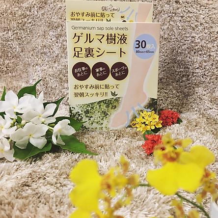 Miếng dán thải độc chân Germanium Nhật Bản