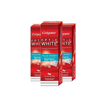 Bộ 3 kem đánh răng Colgate làm trắng & sáng răng 46g/tuýp