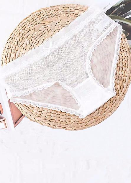 Combo 3 quần lót nữ ren cao cấp thấm hút mồ hôi siêu mềm thoáng khí Q107 - Nhiều màu