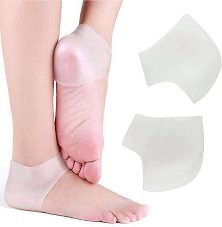 Miếng bảo vệ gót chân silicon (Màu Trắng)