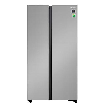 Tủ Lạnh Side By Side Inverter Samsung RS62R5001M9/SV (647L) - Hàng Chính Hãng - Chỉ Giao TPHCM