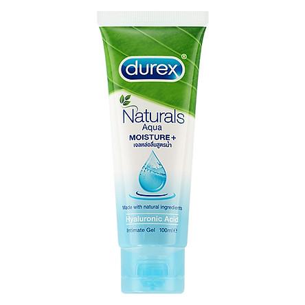 Gel Bôi Trơn Durex Naturals Aqua Moisture + (100ml)