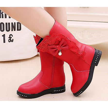 Giày Boot ( cao cấp ) cho bé gái phong cách hàn quốc - BBS004