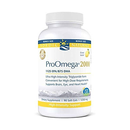 Nordic Naturals Proomega 2000 Fish Oil 1125 Mg Epa