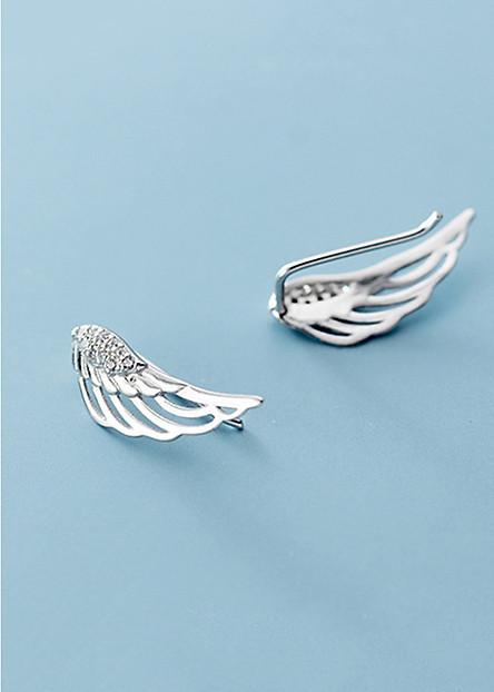 Bông Tai Nữ   Bông Tai Nữ Bạc Thời Trang B2429 - Bảo Ngọc Jewelry
