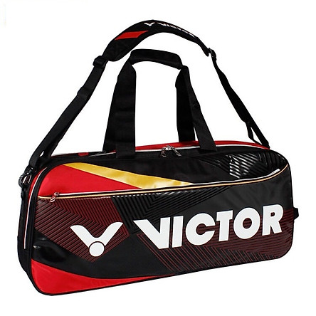 Túi vợt cầu lông Victor 9609 tiện ích, có ngăn để  giày riêng tiện ích, chống tia cực tím