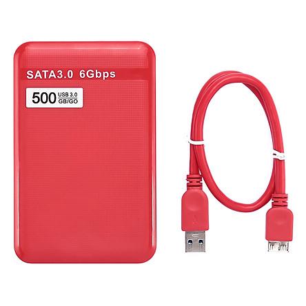 Ổ Cứng Di Động HDD 500GB USB 3.0 SATA