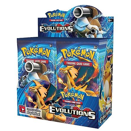 Bộ Thẻ Bài Pokemon 324 Thẻ Trading Card Game Pokémon Evolutions TCG Sưu Tập Đẹp Đọc Đáo
