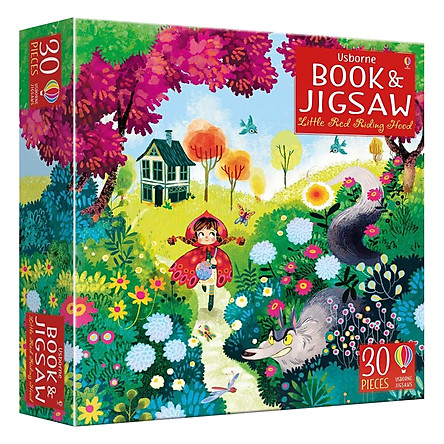 Usborne Book and Jigsaw Little Red Riding Hood