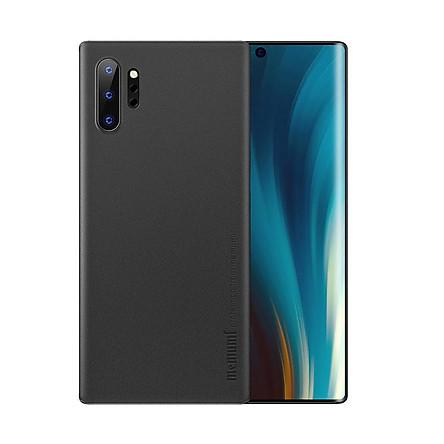 Ốp lưng nhám siêu mỏng 0.3mm cho Samsung Galaxy Note 10 Plus hiệu Memumi có gờ bảo vệ camera - Hàng nhập khẩu