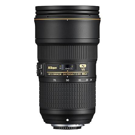 Ống kính Nikon AF-S 24-70mm f/2.8E ED VR Nano - Hàng chính hãng