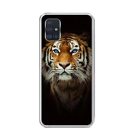 Ốp lưng điện thoại Samsung Galaxy A51 - Silicon dẻo - 0300 TIGER03 - Hàng Chính Hãng