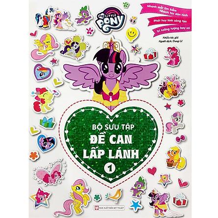 My Little Pony - Bộ Sưu Tập Đề Can Lấp Lánh 1