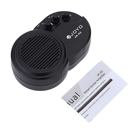 Ampli Đàn Guitar Mini Joyo JA-02 Amplifier Clean Distortion Effects Loa 3W (Kèm Pin) - hàng chính hãng