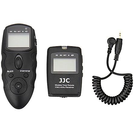 JJC WT-868 + CABLE-M multi-function wireless timer cable remote control multi-group exposure control (for Nikon D5500 D7200 D750 alternative MC-DC2)