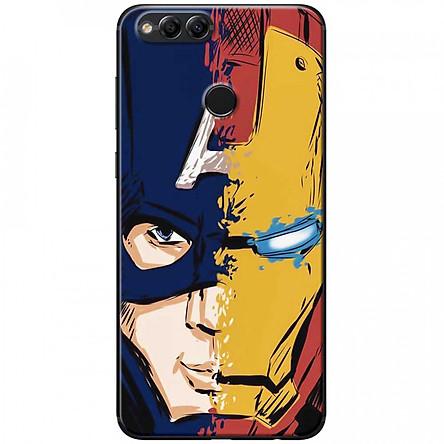Ốp lưng dành cho Honor 7X mẫu Mặt nạ siêu anh hùng