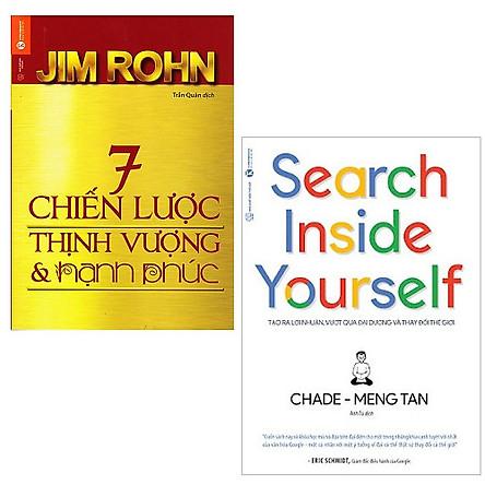Bộ 2 cuốn sách giúp bạn hạnh phúc và giàu có: 7 Chiến Lược Để Thịnh Vượng Và Hạnh Phúc - Search Inside Yourself Tạo Ra Lợi Nhuận Vượt Qua Đại Dương Và Thay Đổi Thế Giới