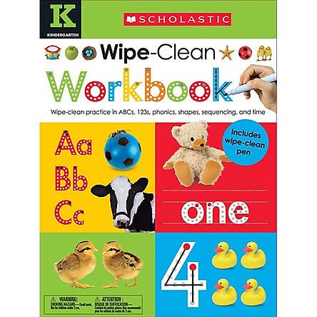 Wipe Clean Work Books - K