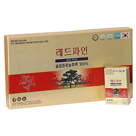 Thực Phẩm Chức Năng Tinh dầu Thông đỏ cao cấp RED FINE Chính hãng Hàn Quốc