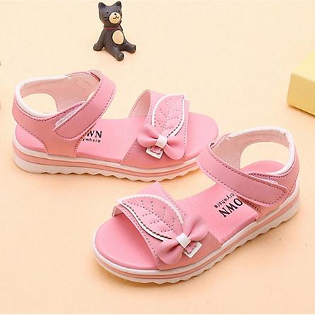 Dép sandal bé gái 3 - 15 tuổi , học sinh tiểu trung học đế Eva siêu nhẹ - SS71