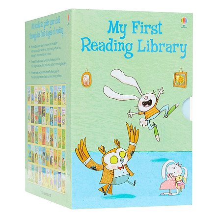 Usborne My First Reading Library – Bộ Xanh 50 cuốn