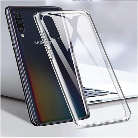 Ốp lưng silicon dẻo trong suốt SamSung Galaxy A50 siêu mỏng 0.5 mm
