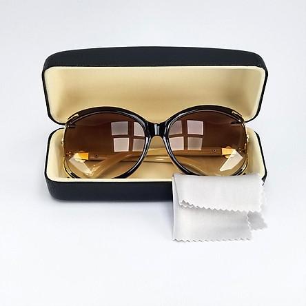 Kính mát nữ thời trang DKY85Kem tròng Polarized phân cực chống tia UV