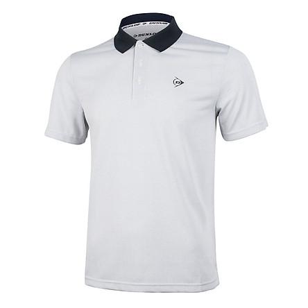 Áo Polo nam thể thao Dunlop - DATES9057-1C-WT