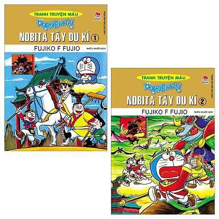 Combo Doraemon Tranh Truyện Màu - Nobita Tây Du Kí - Tập 1 Và 2 (Tái Bản 2019) (Bộ 2 Tập)