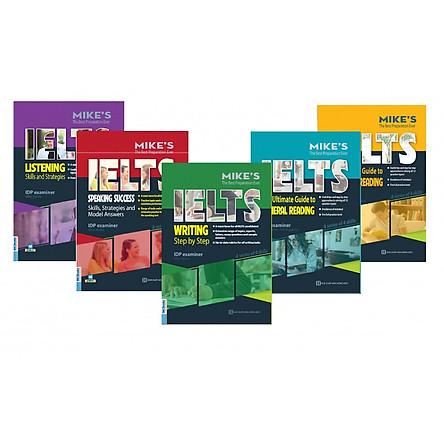 Bộ Sách IELTS - Listening, Speaking, Reading, Writing (Tặng kèm Kho Audio Books)
