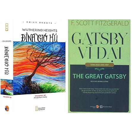 Combo Đỉnh gió hú + Gatsby vĩ đại (song ngữ Anh Việt)