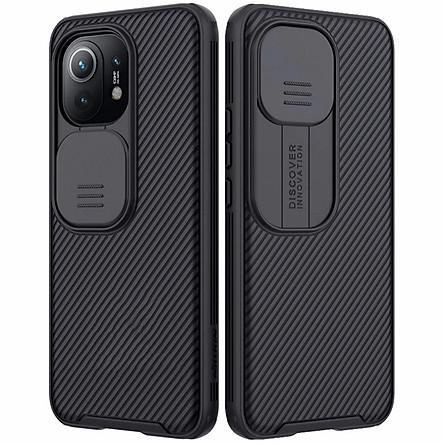 Ốp lưng cho Xiaomi Mi 11 Nillkin bảo vệ camera - Hàng nhập khẩu
