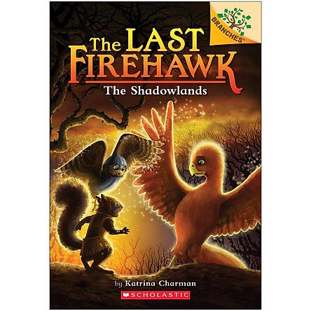 The Shadowlands: A Branches Book (The Last Firehawk #5)
