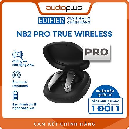 EDIFIER NB2 PRO Tai nghe bluetooth chống ồn chủ động ANC - Âm thanh toàn cảnh Paranomic Surround Sound - Game mode - Bản quốc tế - Hàng chính hãng