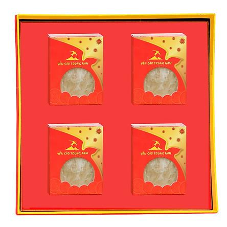 Tổ Yến Sào Tinh Chế (4Tổ/32g/Hộp) Yến Sào Trung Nam - Hộp quà tặng