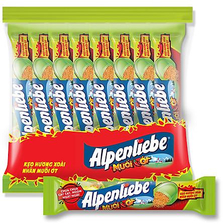 Kẹo Alpenliebe Hương Xoài Nhân Muối Ớt 16 Thỏi